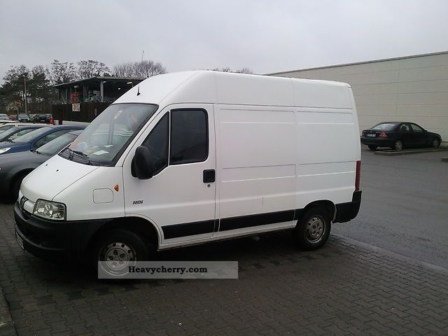peugeot boxer l1h2 2005 box type delivery van high photo and specs. Black Bedroom Furniture Sets. Home Design Ideas