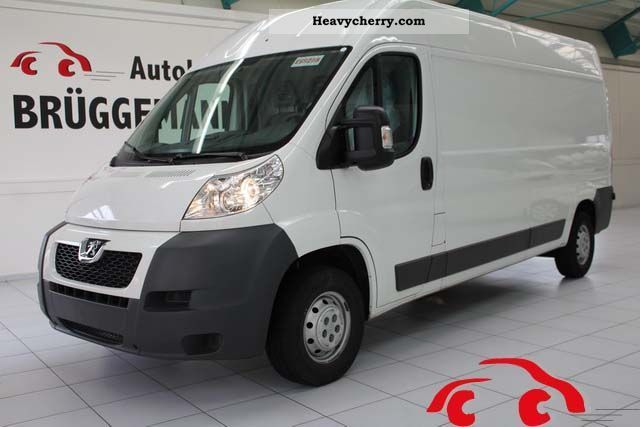 2010 Peugeot  Boxer L3H2 HDI 120 EGR wheelbase 335 3-Sit Van or truck up to 7.5t Box-type delivery van - high photo
