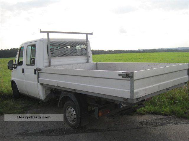 2001 Peugeot  Boxer doka Hugendubel 7 os pdka skrzynia Van or truck up to 7.5t Other vans/trucks up to 7 photo