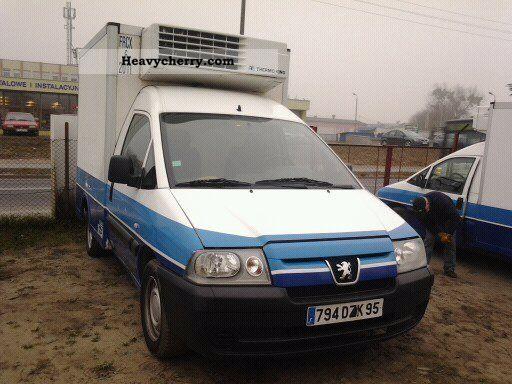 2005 Peugeot  Expert Van or truck up to 7.5t Refrigerator body photo