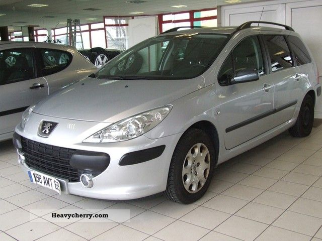 2007 Peugeot  307 SW 1.6 HDI VAN Ciężarowy 2-os Van or truck up to 7.5t Other vans/trucks up to 7 photo