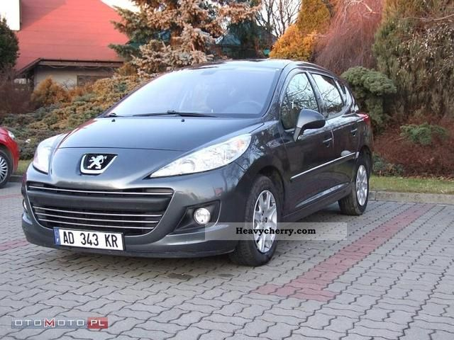 2009 Peugeot  207 SW 1.6 HDI VAN Ciężarowy 2-os Van or truck up to 7.5t Other vans/trucks up to 7 photo
