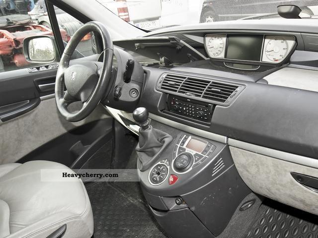 Peugeot 807 2 0 hdi platinum leather climate 2006 estate for Interior peugeot 807