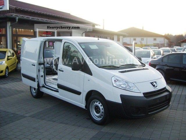 2011 Peugeot  Expert R Box 227 air Schiebetür Cruise Van or truck up to 7.5t Box-type delivery van photo