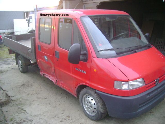 2002 Peugeot  boxer Van or truck up to 7.5t Stake body photo