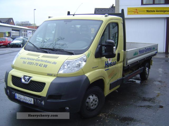 2007 Peugeot  Boxers with 116 KW / 3 way tipper Van or truck up to 7.5t Tipper photo