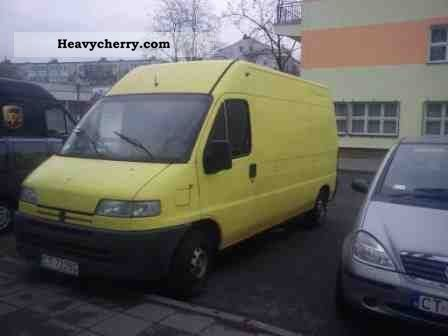 1995 Peugeot  Boxer Van or truck up to 7.5t Other vans/trucks up to 7 photo