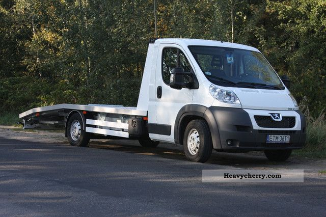 2012 Peugeot  BOXER 3.0L HDi 177HP, euro 5, 1650kg Max. New! Van or truck up to 7.5t Car carrier photo