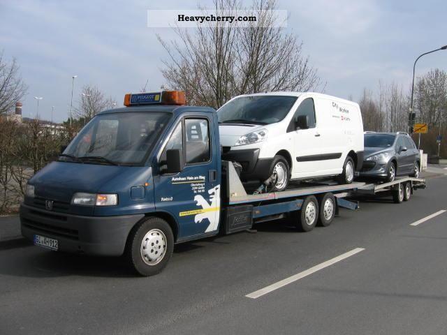 1998 Peugeot  Jotha sliding platform for additional fee: Trailer for Van or truck up to 7.5t Car carrier photo
