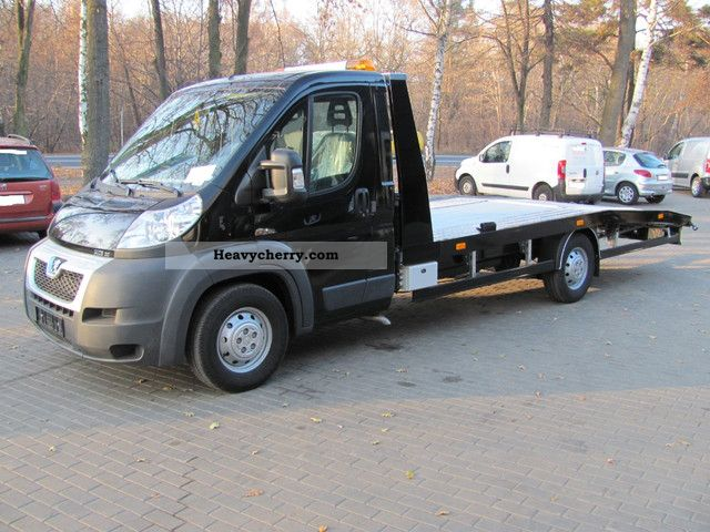 2011 Peugeot  Boxer 3.0 HDI 180 hp - EURO5 - CLIMATE - CRUISE CONTROL Van or truck up to 7.5t Breakdown truck photo