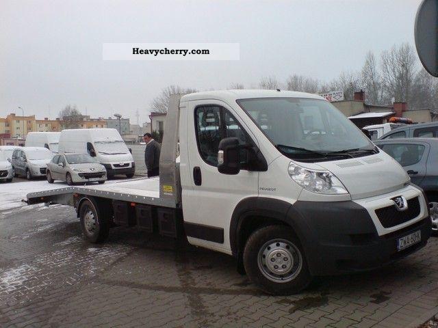 2008 Peugeot  AIR SHOW BOXER AUTOLAWETA F-VAT 23% Van or truck up to 7.5t Breakdown truck photo