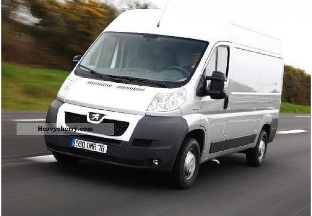 peugeot boxer 2 2 120ps hdi l2h2 335 vans lag 2011 other vans trucks up to 7 photo and specs. Black Bedroom Furniture Sets. Home Design Ideas