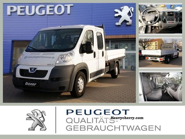 2011 Peugeot  Boxer 3.0 HDi FAP250 Platform Van or truck up to 7.5t Stake body photo