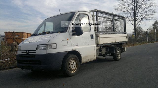 2000 Peugeot  Boxer 3 aluminum tipper Van or truck up to 7.5t Tipper photo