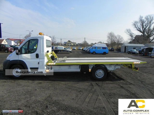 2011 Peugeot  BOXER 3.0 pomoc Drogowa HYDRAULIC PLATFORM Van or truck up to 7.5t Breakdown truck photo