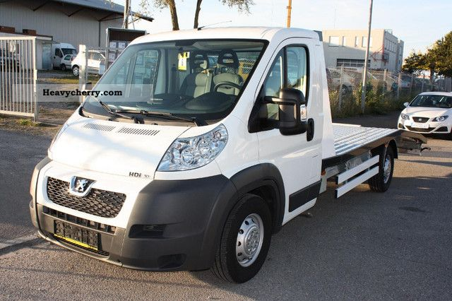2012 Peugeot  BOXER 3.0L HDi 177HP, euro 5, 3000kg towbar, New! Van or truck up to 7.5t Car carrier photo