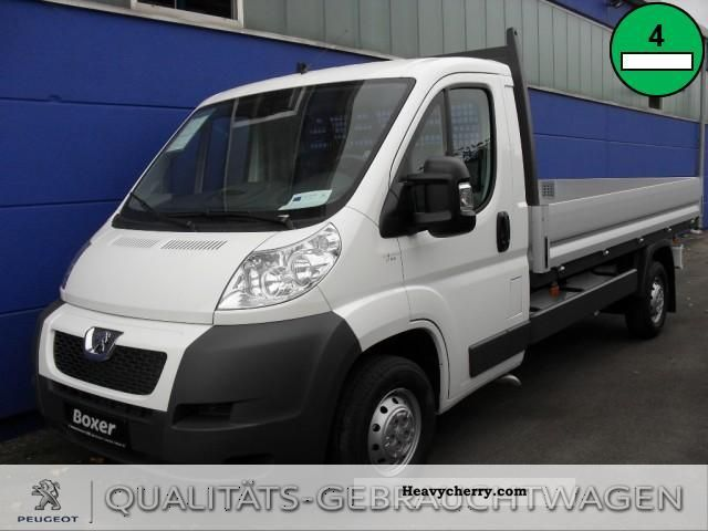 2011 Peugeot  Boxer platform HDi 335 L3 Van or truck up to 7.5t Stake body photo