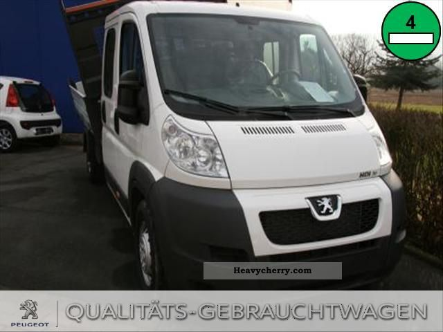 2011 Peugeot  Boxer 3.0 HDI 440 DOKA tipper 3 pages Van or truck up to 7.5t Stake body photo
