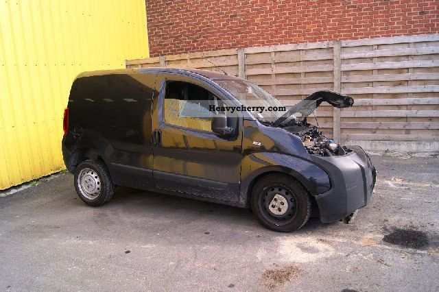 2009 Peugeot  BIPPER HDI clima Van or truck up to 7.5t Other vans/trucks up to 7 photo