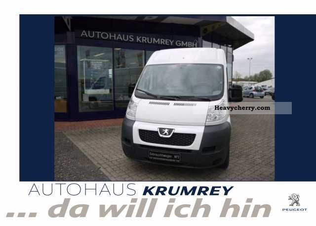 2010 Peugeot  Boxer 333 L2H2 HDI 120 radio CD trim Van or truck up to 7.5t Box-type delivery van - high photo