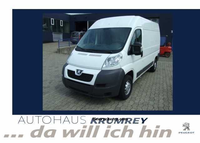 2010 Peugeot  Boxer 333 L2H2 HDI 120 Van or truck up to 7.5t Box-type delivery van - high photo