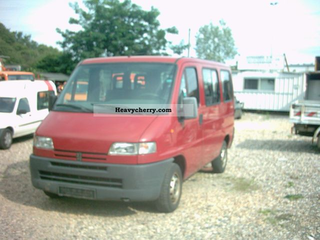 1996 Peugeot  230 p full 8sitze Guert. Van or truck up to 7.5t Estate - minibus up to 9 seats photo