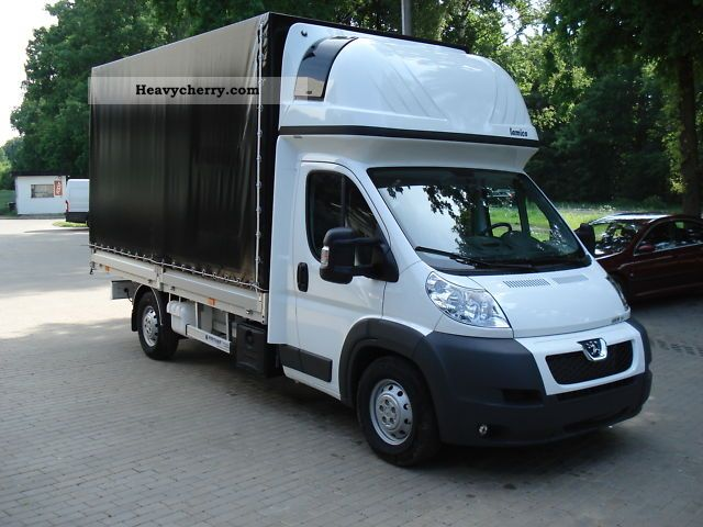 2011 Peugeot  Boxer 3.0 HDI 180HP - SLEEPER - STANDHZ. Van or truck up to 7.5t Box photo