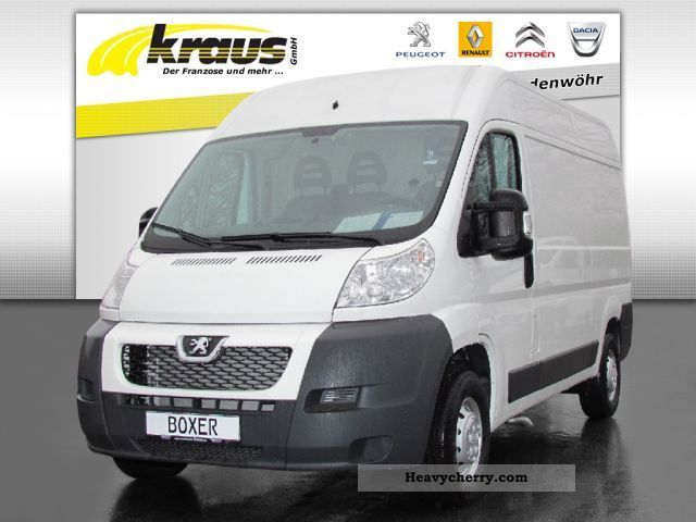2010 Peugeot  Boxer L2H2 HDI 120 Box AIR Van or truck up to 7.5t Box-type delivery van - high photo