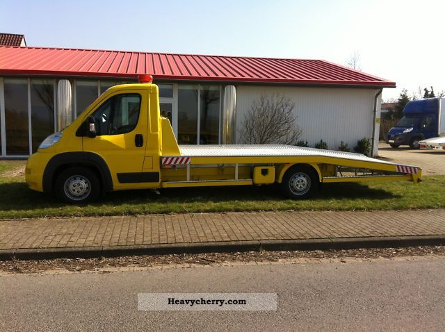 2011 Peugeot  Boxer 3.0 HDI 160 hp - ADAC-YELLOW Van or truck up to 7.5t Breakdown truck photo