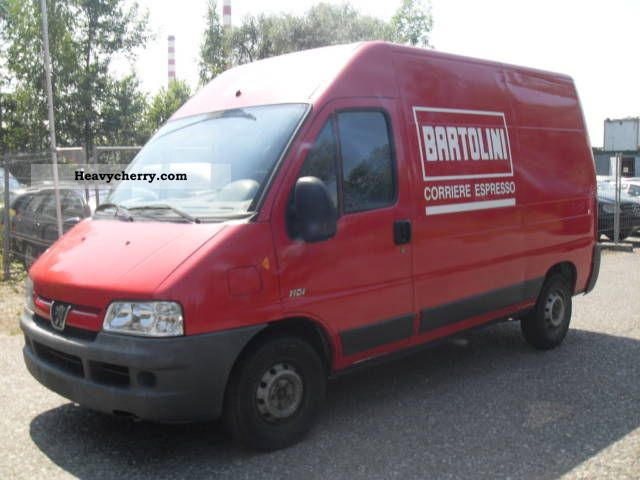 2003 Peugeot  boxer Van or truck up to 7.5t Box-type delivery van - high photo