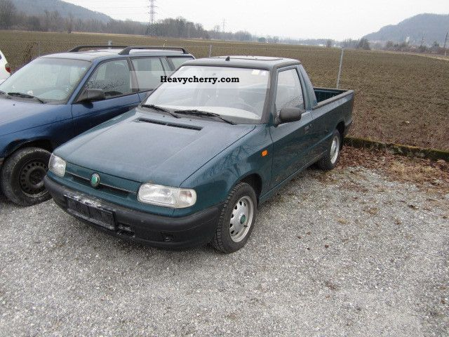 skoda felicia pick up 1999 stake body truck photo and specs. Black Bedroom Furniture Sets. Home Design Ideas