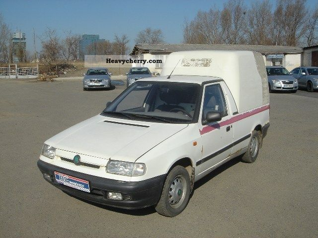 skoda felicia pick up 1 9d 2000 box type delivery van photo and specs. Black Bedroom Furniture Sets. Home Design Ideas