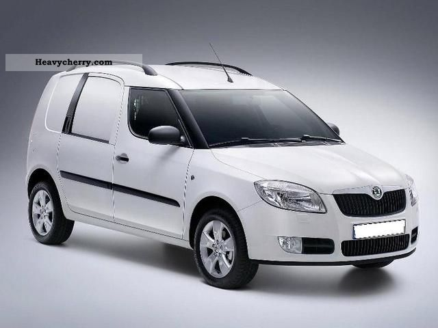 Skoda Roomster 1 6 Tdi 90cv Van 2012 Other Vans Trucks Up