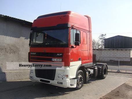 2003 DAF  XF 480 SPACE CAB Semi-trailer truck Standard tractor/trailer unit photo