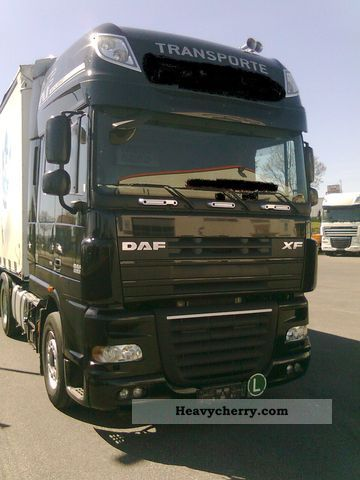2009 DAF  105.460 SSC, Financing Available Semi-trailer truck Standard tractor/trailer unit photo