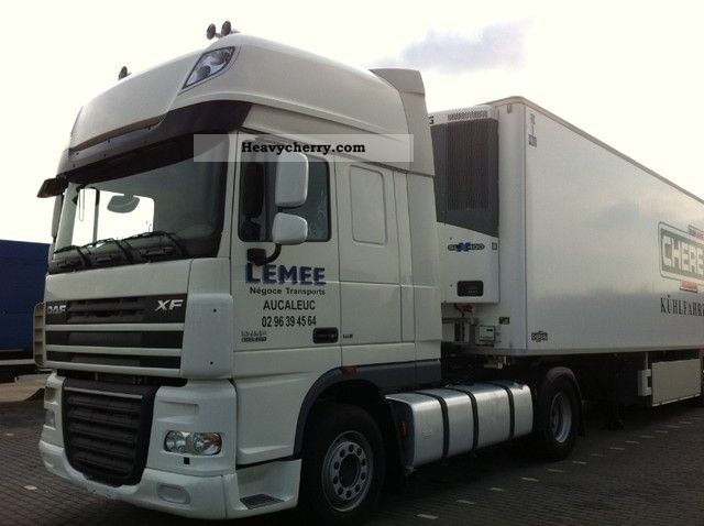 2010 DAF  105 XF 460 SSC.Pr.Date06.2009.Good for Russia Semi-trailer truck Standard tractor/trailer unit photo
