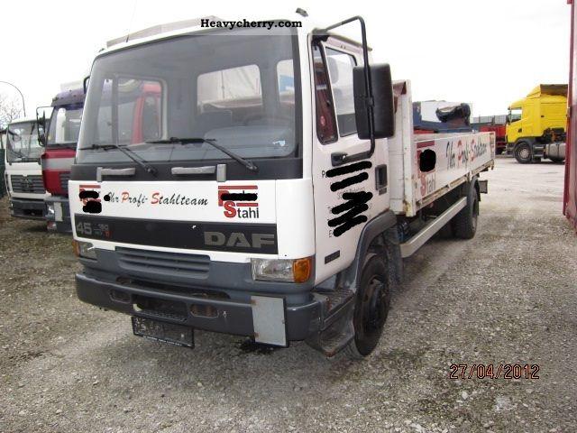 2000 DAF  AE 45/150 Truck over 7.5t Stake body photo