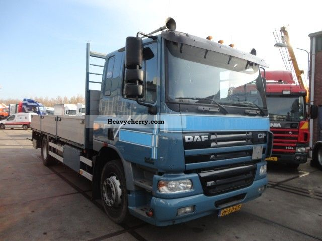 2005 DAF  CF75-310 MET ROETFILTER Truck over 7.5t Stake body photo