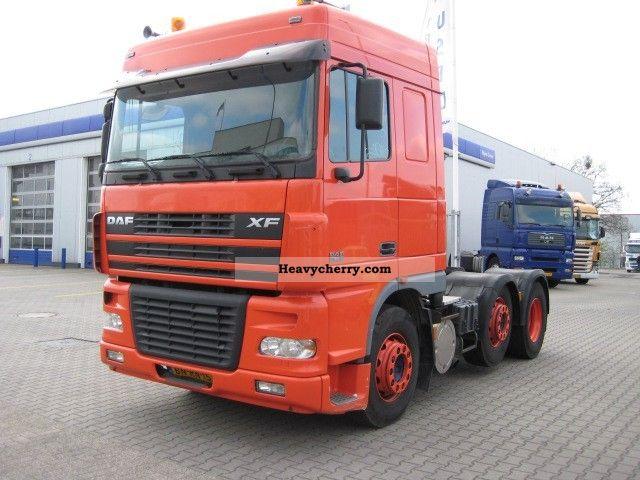2003 DAF  XF95.380 Semi-trailer truck Standard tractor/trailer unit photo