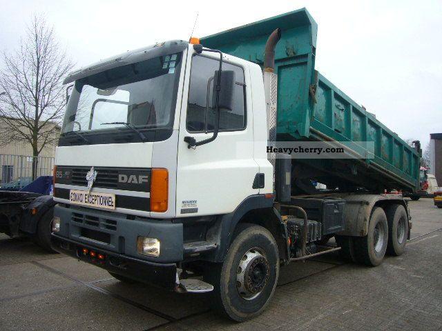 1997 DAF  85 400 ATI 6x4 tipper Truck over 7.5t Tipper photo