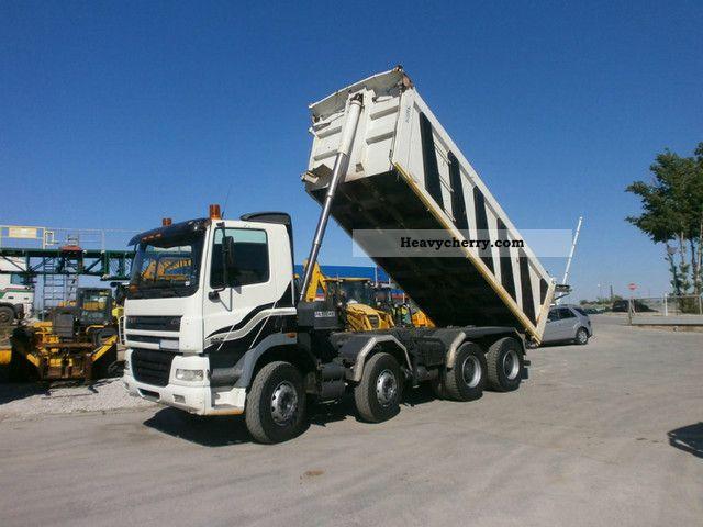 2004 DAF  CF 85.480 Truck over 7.5t Tipper photo