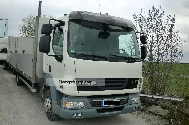 2009 DAF  LF 45 220 house-L platform Euro5 switch Truck over 7.5t Stake body photo