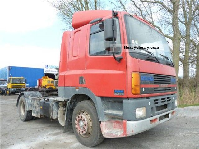 1999 DAF  85 CF 380 Semi-trailer truck Standard tractor/trailer unit photo