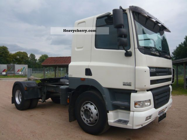 Tractor Trailer Units : Daf cf top condition standard tractor trailer