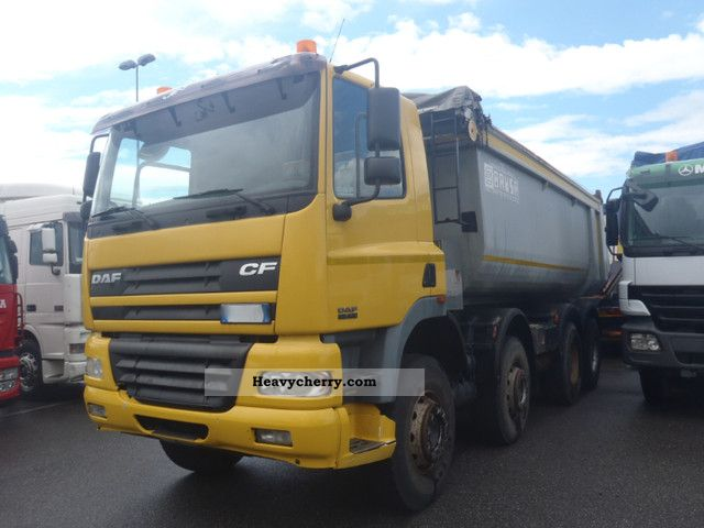 2002 DAF  CF85.430 8x4 tipper air ABS export 29.900Euro Truck over 7.5t Tipper photo