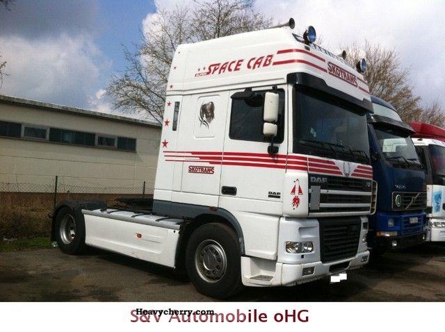 2003 DAF  XF 95 480 Semi-trailer truck Standard tractor/trailer unit photo