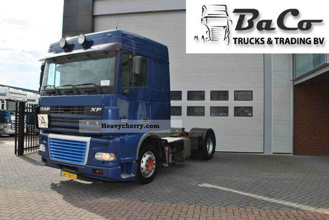 2003 DAF  XF 95 430 SC Manual - ZF Intarder - Air Semi-trailer truck Standard tractor/trailer unit photo