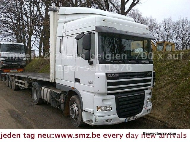 2006 DAF  105 XF 410 SPACECAB SWITCHING Semi-trailer truck Standard tractor/trailer unit photo