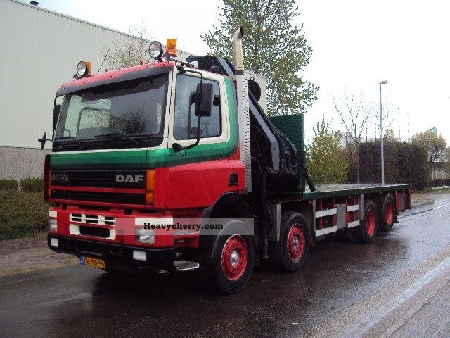 1999 DAF  AC 85 XS Truck over 7.5t Stake body photo