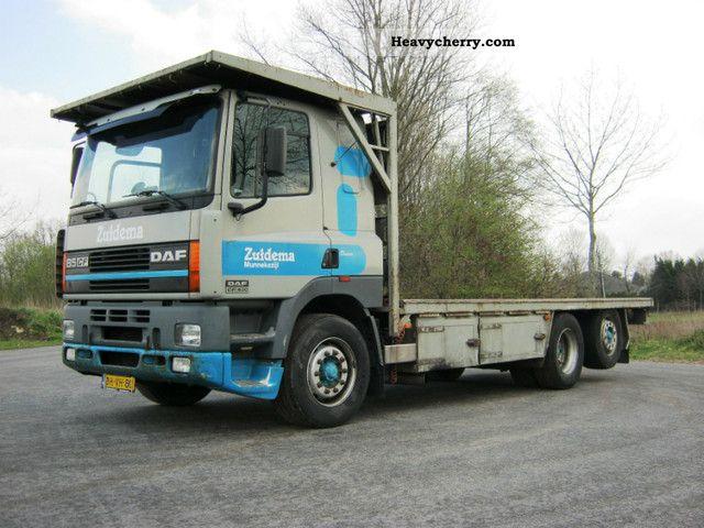 2000 DAF  85CF 430HP euro2 Truck over 7.5t Stake body photo
